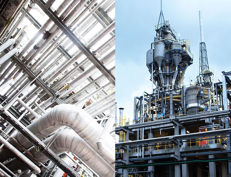 chemische fabrieken Fibrant